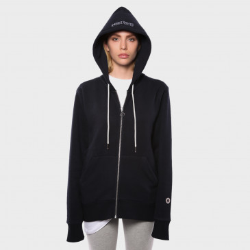ZIP UP HOOD NAVY