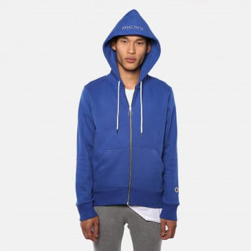 TERRY ZIP UP HOOD BLUE SUPREME