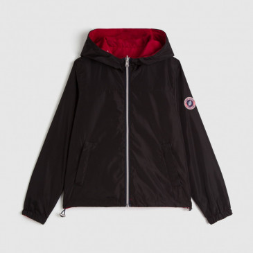 WINDBREAKER BLACK/RED