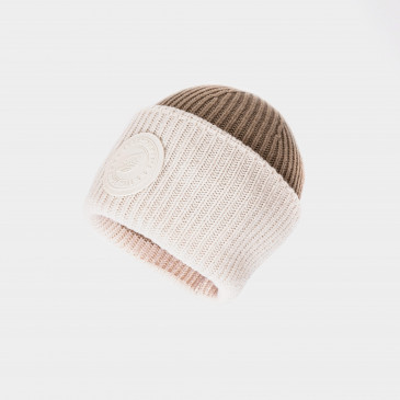 2 TONES BIG BEANY OFF WHITE / CARAMEL