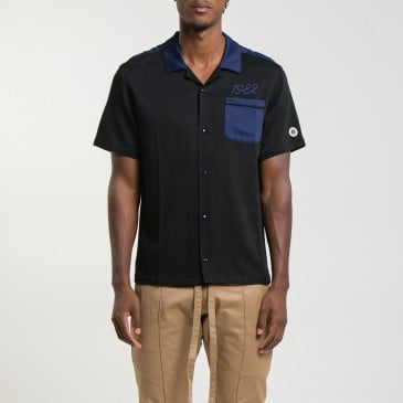 BOWLING SHIRT BLACK/NAVY