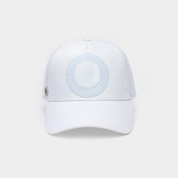 UNICOLOR CAP WHITE