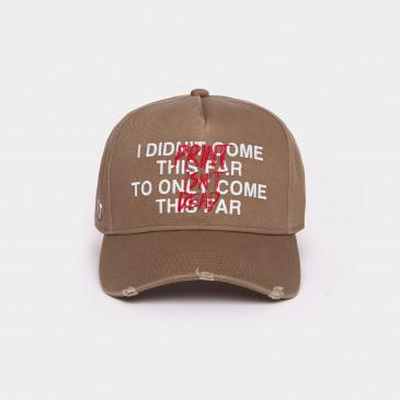 COTTON USED CAP KAKI