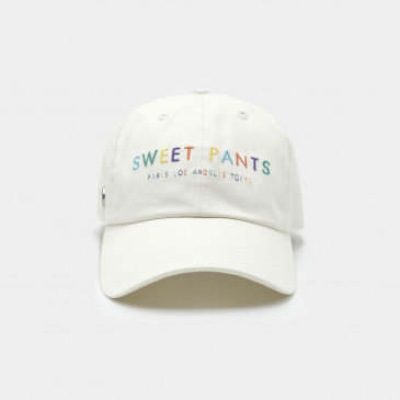 RAINBOW CAP OFF WHITE