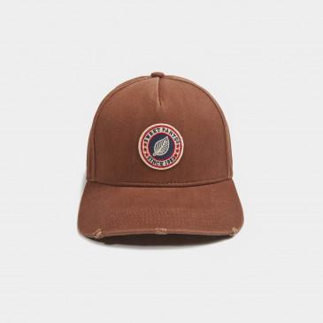 USED BASIC CAP VINTAGE COGNAC