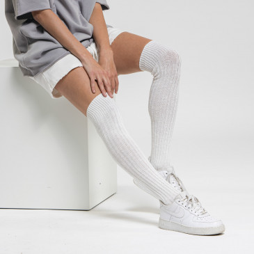 URBAN LONG SOCKS OFF WHITE