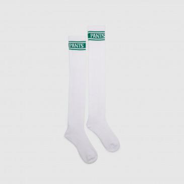 LONG SOCKS WHITE/VERT