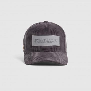 CORDUROY CAP ANTHRACITE