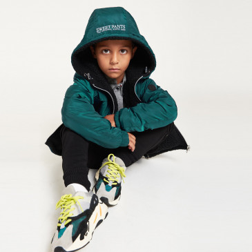 KID WINDBREAKER SHERPA FOREST