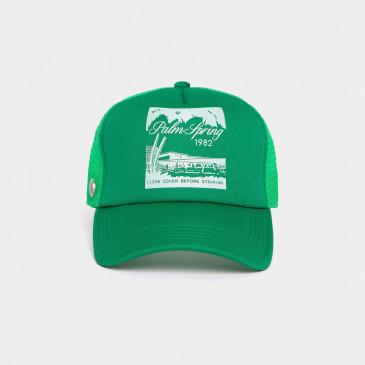 FOAM PRINT CAP MINT PALM