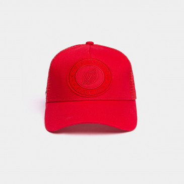 UNICOLOR CAP RED