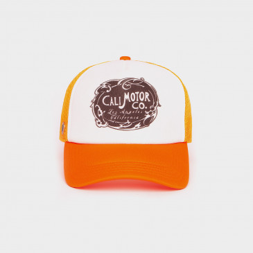 FOAM 2 TONES CAP-NEON ORANGE MOTOR