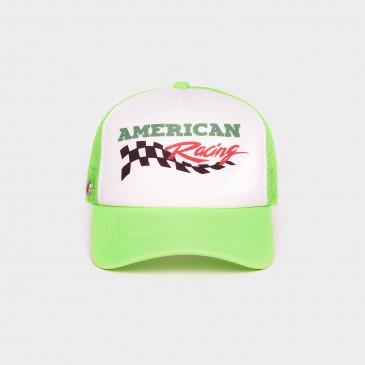 FOAM 2 TONES CAP NEON GREEN RACING