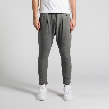 TROUSER DARK MARL