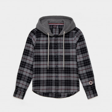 KID HOOD CUTTER DARK MARL