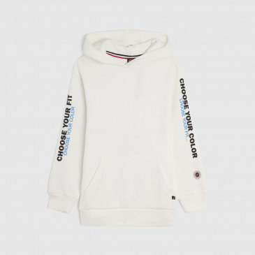KID PRODUCT HOODIE OFF WHITE