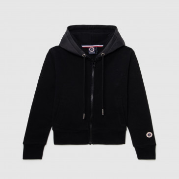 KID TWICE ZIP UP  BLACK/BLACK