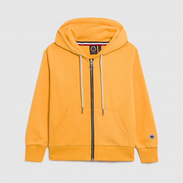 KID ZIP UP HOOD BECK GOLD