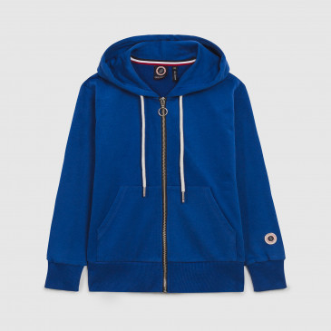 ZIP UP HOOD KIDS BLEU SUPREME