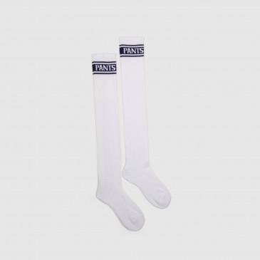 LONG SOCKS WHITE/NAVY