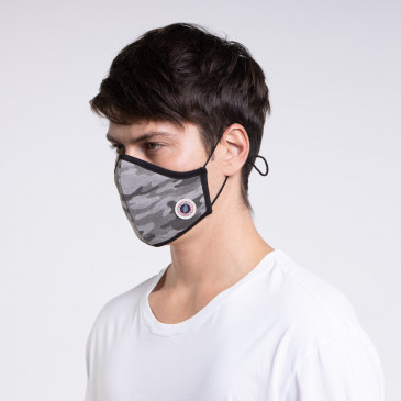 MASK CAMOU GRIS