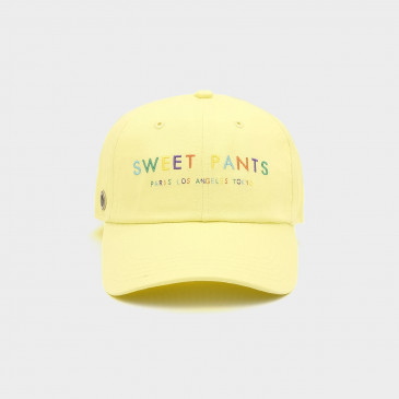 RAINBOW CAP NEON YELLOW
