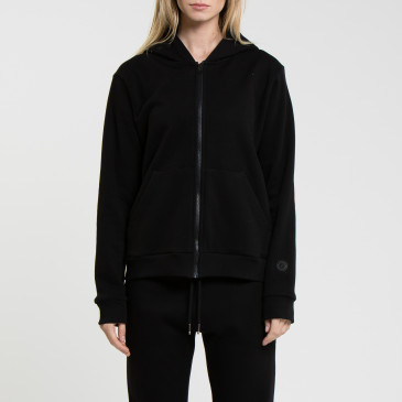 SIMPLY ZIP UP BLACK