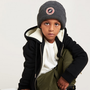 KID SHERPA JACKET MARINE
