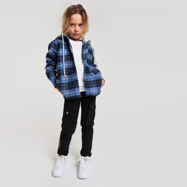 KID HOOD CUTTER DENIM