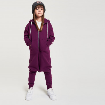 KID OVERALL DARK PURPLE