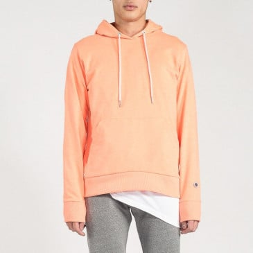 CLASSIC HOOD NEON ORANGE TERRY