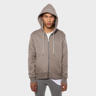 TERRY ZIP UP HOOD MALTE