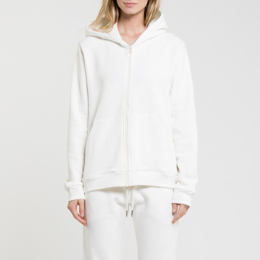 SIMPLY ZIP UP OFF WHITE