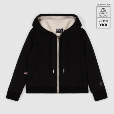 KID SHERPA JACKET BLACK