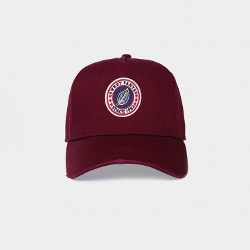 USED BASIC CAP VINTAGE BORDEAUX