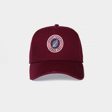 USED BASIC CAP VINTAGE BORDEAUX