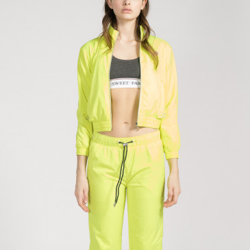 TACTEL CROP JAUNE FLUO