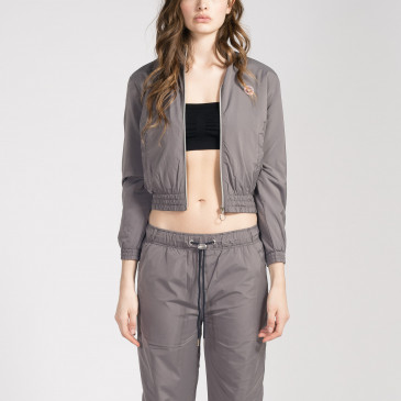 TACTEL CROP SILVER