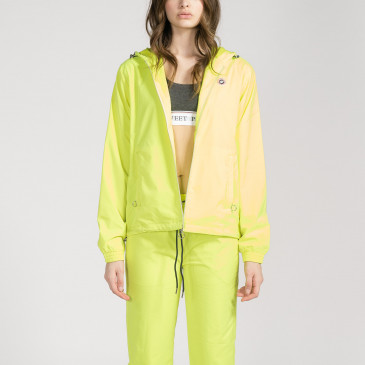 TACTEL HOOD YELLOW FLUO
