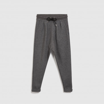 KID TROUSER DARK MARL