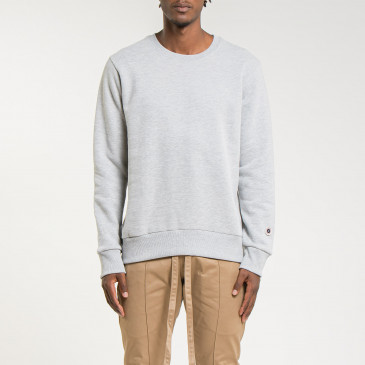 TERRY CLASSIC CREW GREY MARL