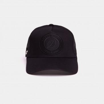 UNICOLOR CAP BLACK