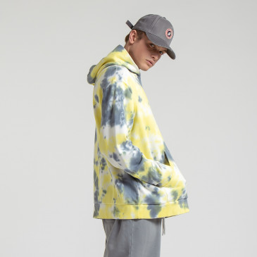 URBAN HOODIE T&D CLOUD YELLOW