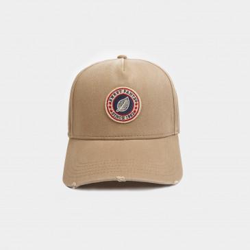 USED BASIC CAP VINTAGE CARAMEL