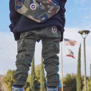 KID WARRIOR VINTAGE ARMY