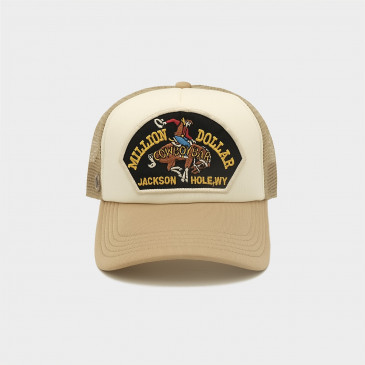 WESTERN 2 TONES CAP COWBOY