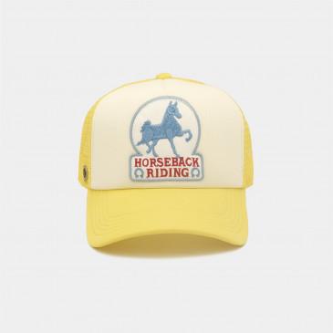 WESTERN 2 TONES CAP HORSE