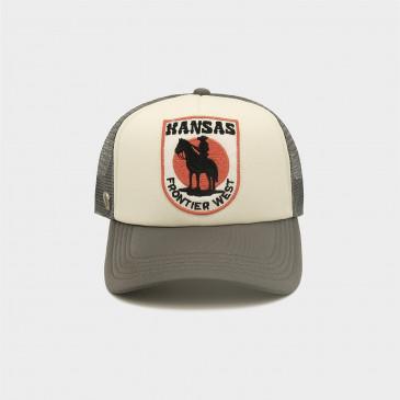 WESTERN 2 TONES CAP KANSAS