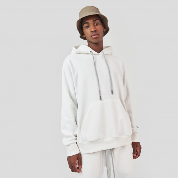 WIDE HOOD OFF WHITE